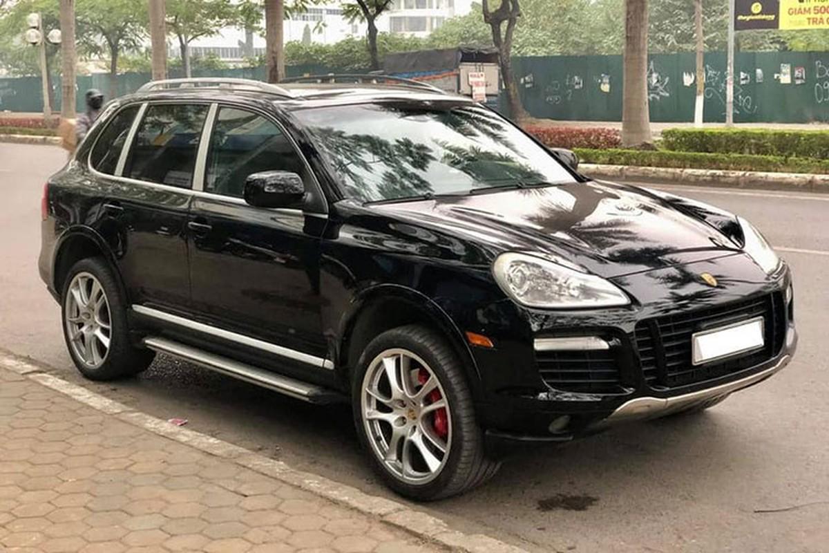 Chi tiết SUV hạng sang Porsche Cayenne chỉ hơn 800 triệu ở Hà Nội