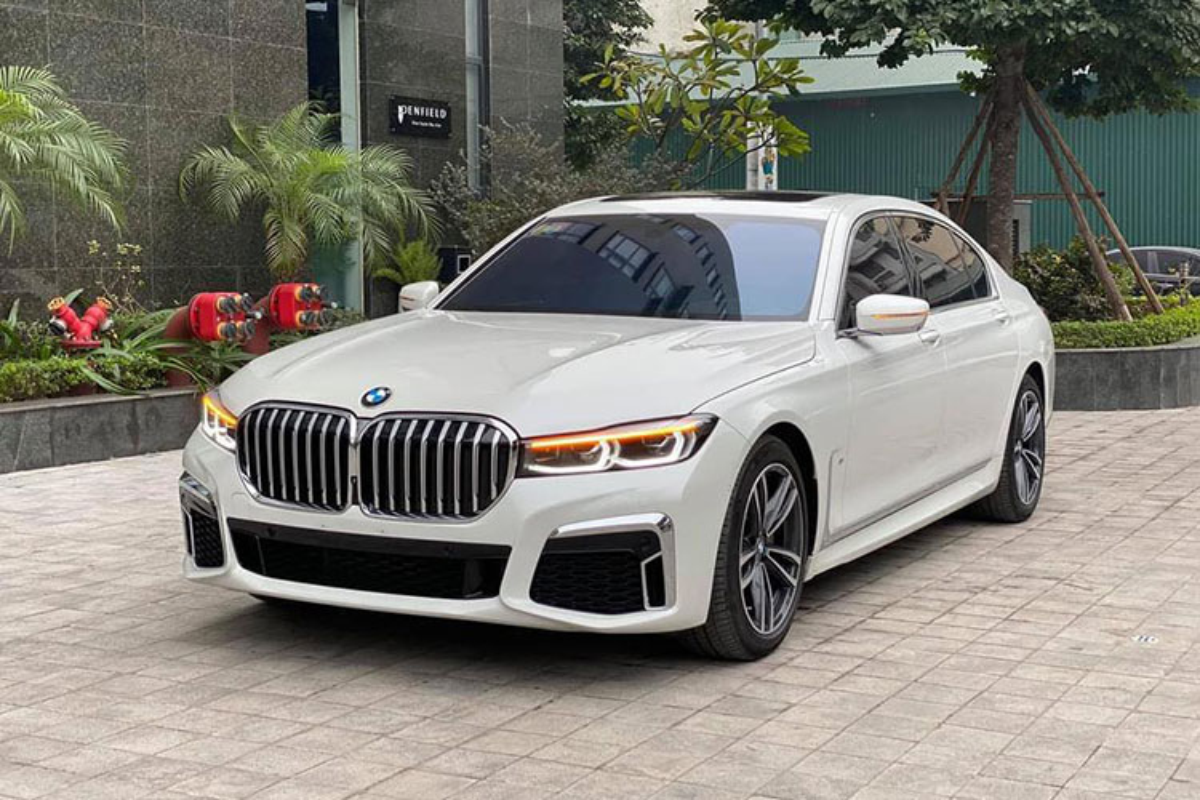 BMW 730Li M-Sport 2020 len san xe cu, gan 4,5 ty o Ha Noi