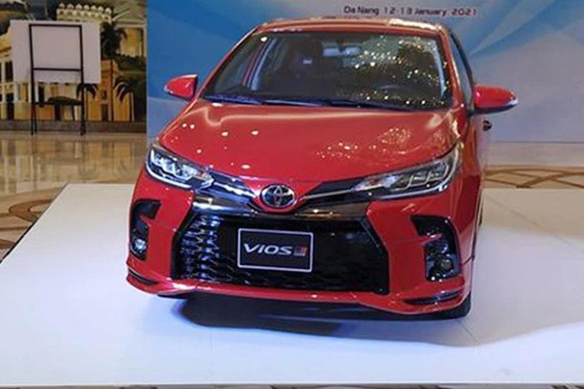 Toyota Vios GR Sport 2021 tu 557 trieu tai Malaysia ve Viet Nam