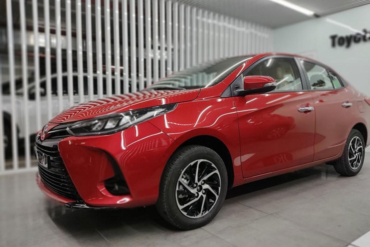 Can canh Toyota Vios 2021 tai Viet Nam, tang 10 trieu dong?