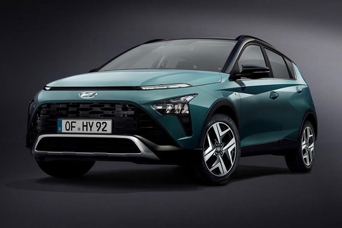 Chi tiet Hyundai Bayon 2021, khoi diem tu 457 trieu dong