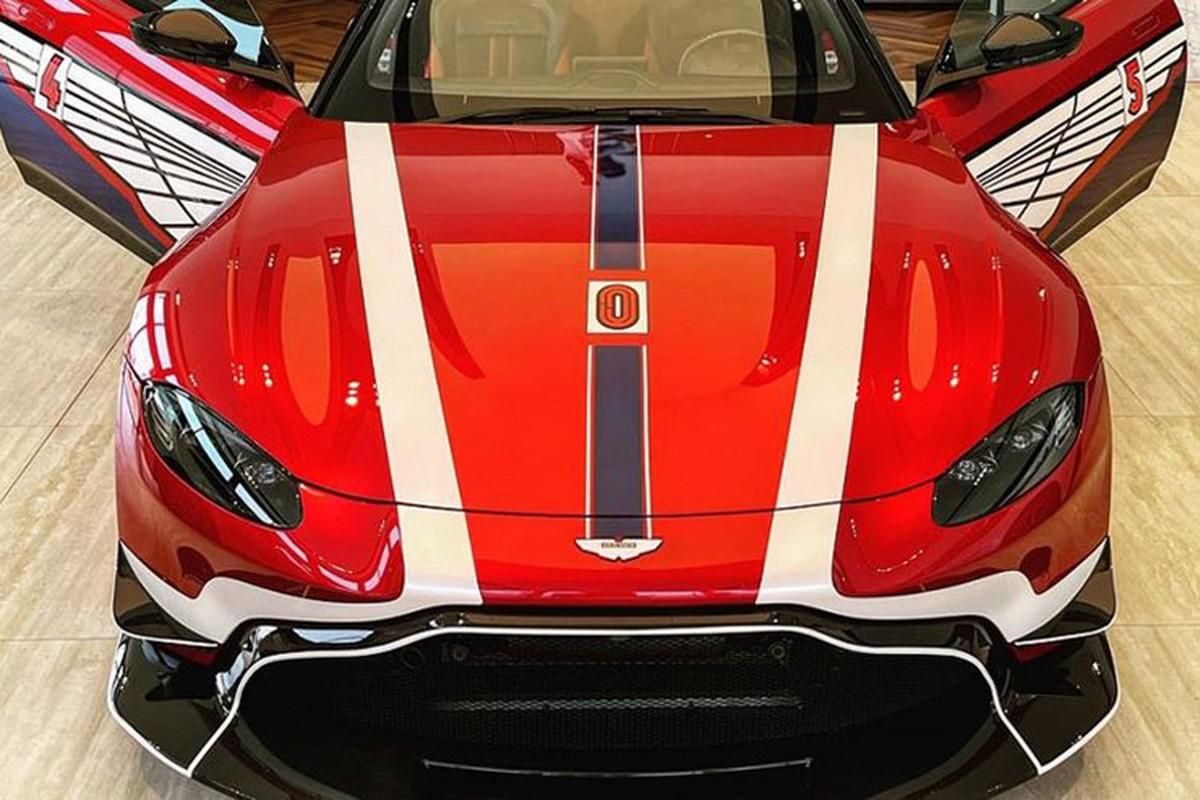 Chi tiet Aston Martin V8 Vantage gan 17 ty cua dai gia Minh Nhua