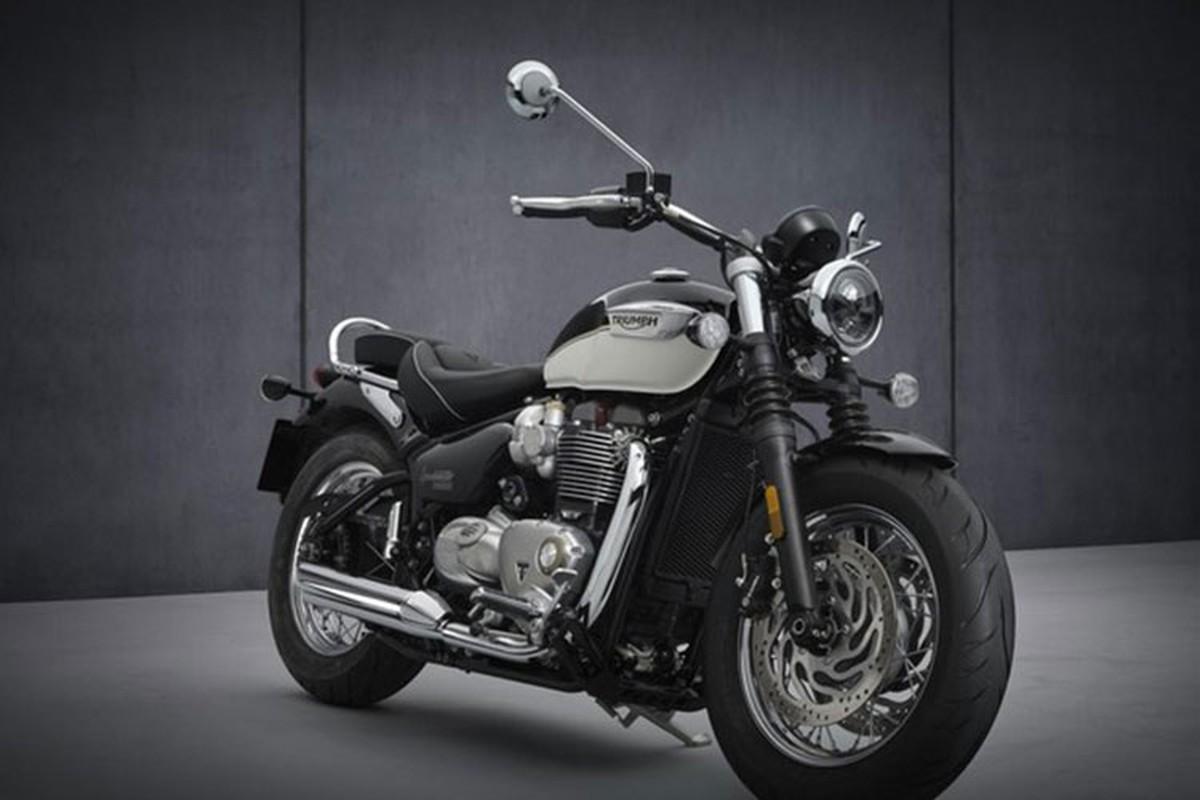Triumph Bonneville Speedmaster 2021 tu 363 trieu dong tai An Do