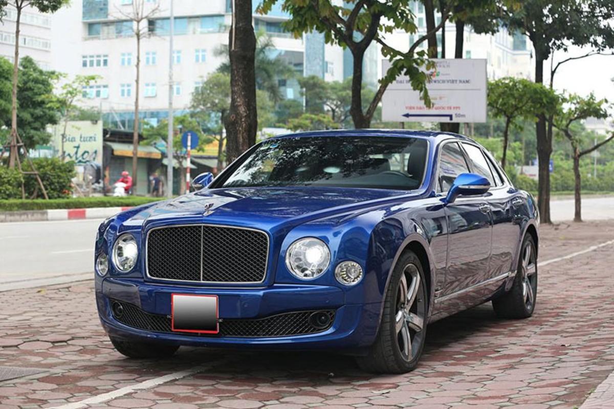 Ngam sieu sang Bentley Mulsanne Speed 2016, hon 18 ty o Ha Noi