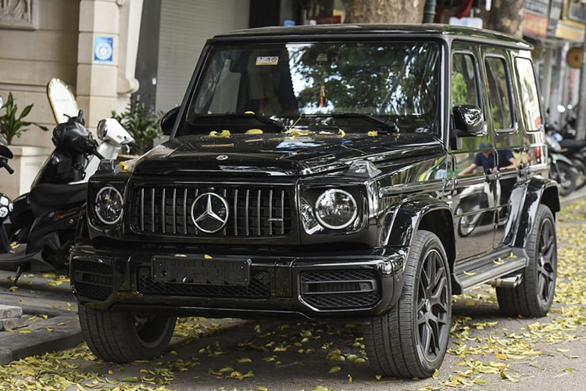 Tuan Hung tau SUV hang sang Mercedes-AMG G63 hon 10 ty dong-Hinh-9