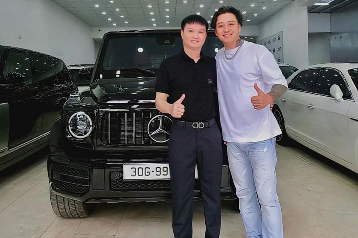 Tuan Hung tau SUV hang sang Mercedes-AMG G63 hon 10 ty dong