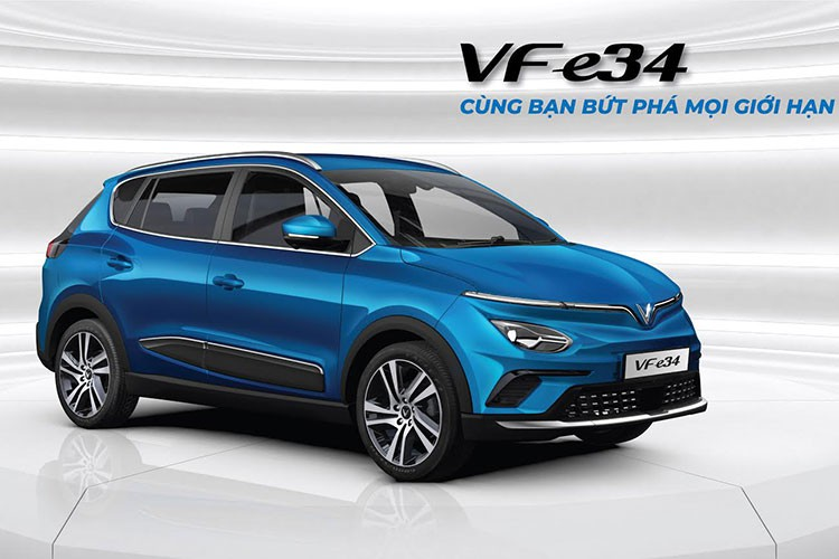 VinFast VF e34 chay thu tai Ha Noi, sap den tay khach hang-Hinh-4
