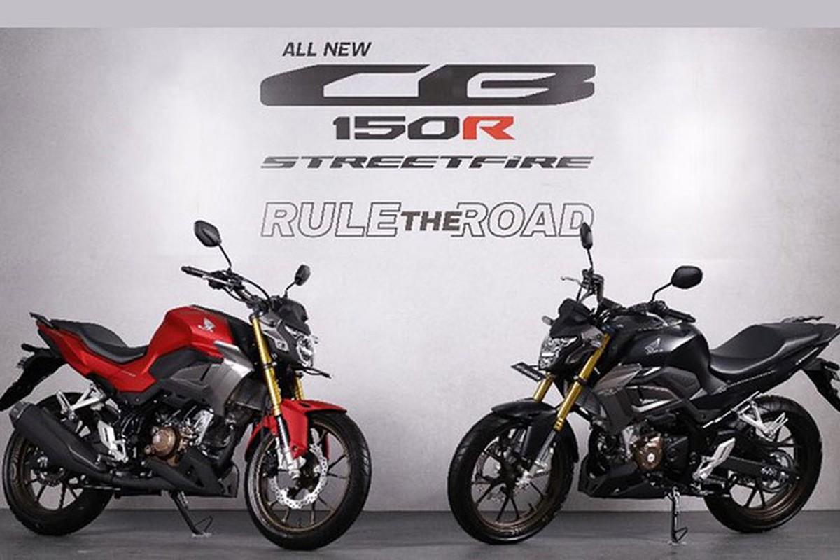 Honda CB150R Streetfire 2021 ban ra chua den 50 trieu dong