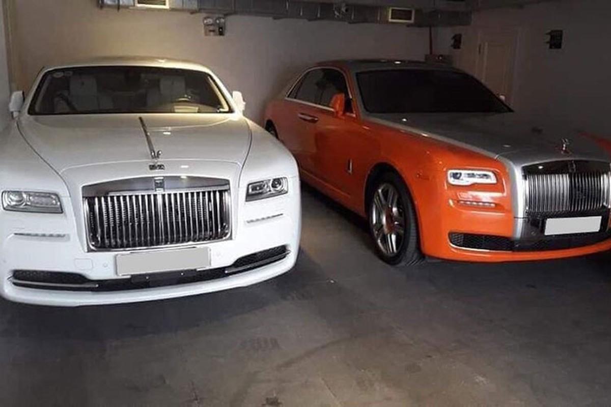 Dan xe Rolls-Royce, Bentley tram ty cua ba Nguyen Phuong Hang