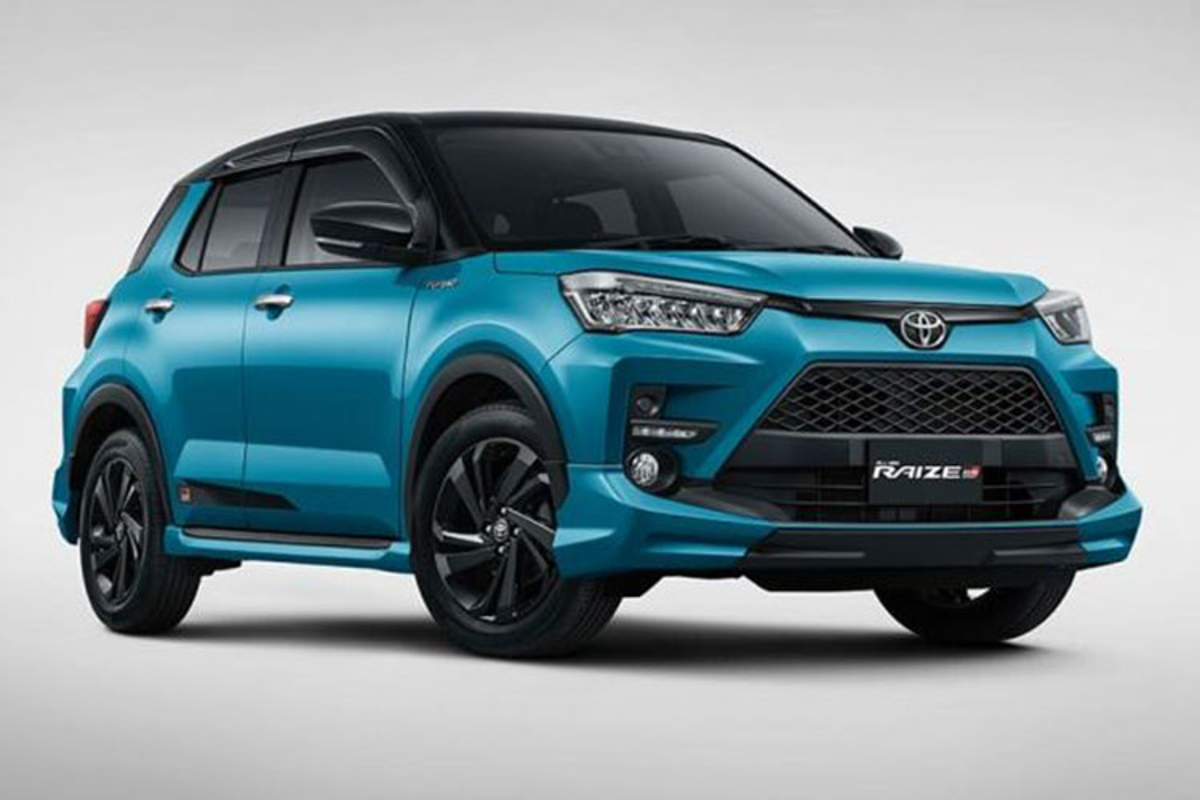 Toyota Raize gia re sap ve Viet Nam,
