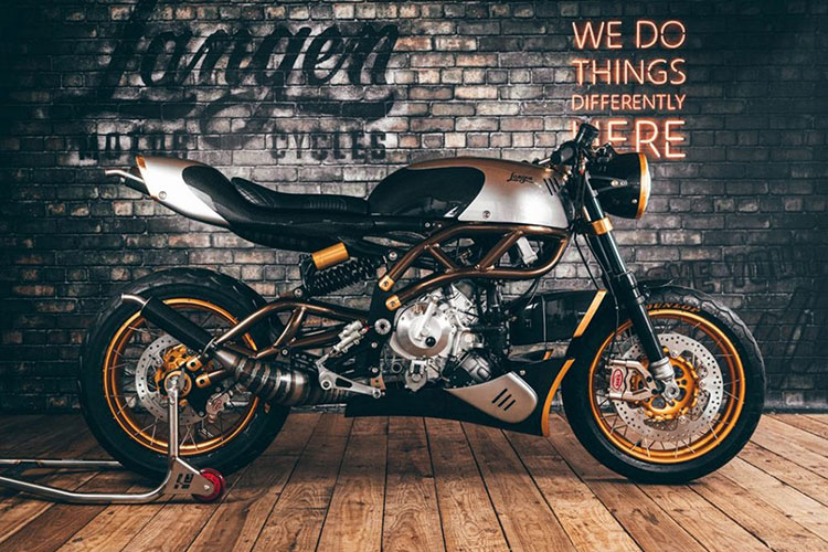 Langen Two Stroke - xe moto Cafe Racer 2 thi ma vang bac ty-Hinh-2