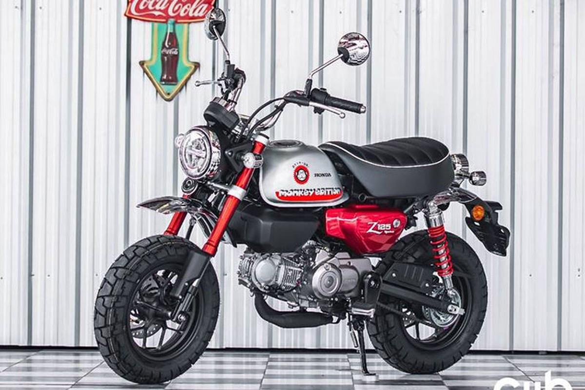 Honda Monkey Johney 2022 phien ban dac biet gan 80 trieu dong