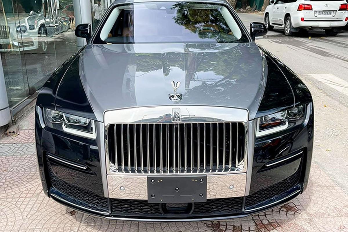 Can canh Rolls-Royce Ghost EWB 2021 hon 40 ty dau tien tai Ha Noi