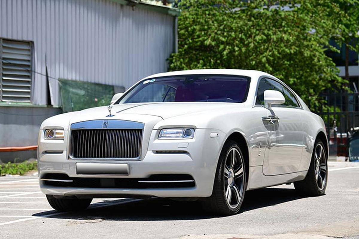 Rolls-Royce Wraith moi chay 6 nam, dai gia Ha Noi