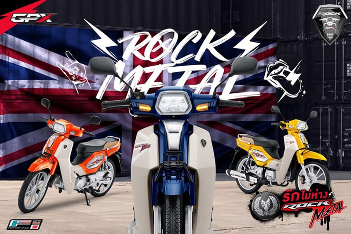 Xe may GPX Rock Metal