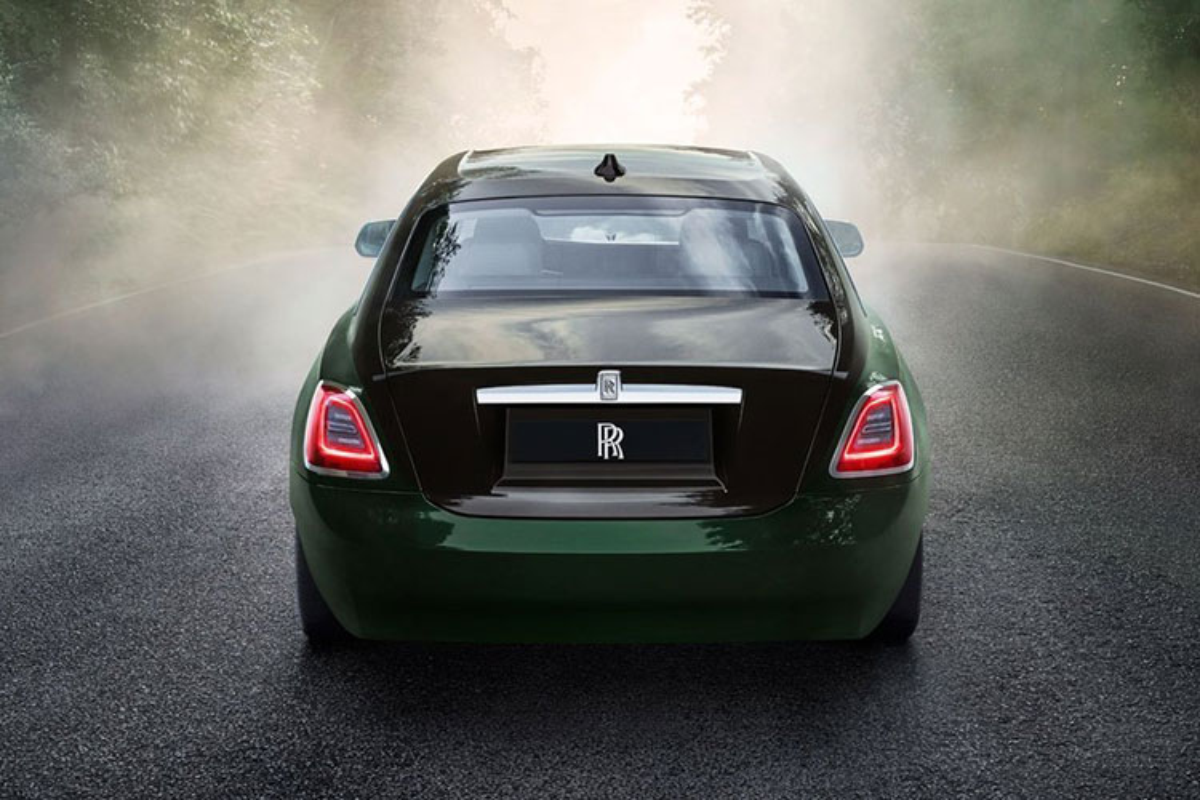 Rolls-Royce Ghost 2021 chinh hang tu 30 ty, xe nhap tu