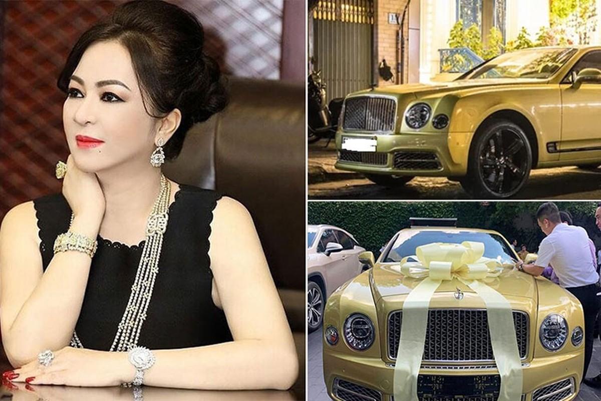 Bentley Mulsanne gan 50 ty cua ba Phuong Hang co gi ma noi tieng?