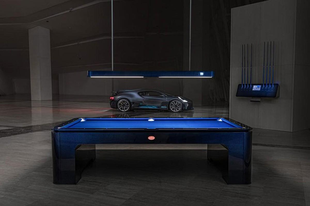 Ban choi bi-a Bugatti 6,7 ty dong, dat hon ca Lamborghini Huracan