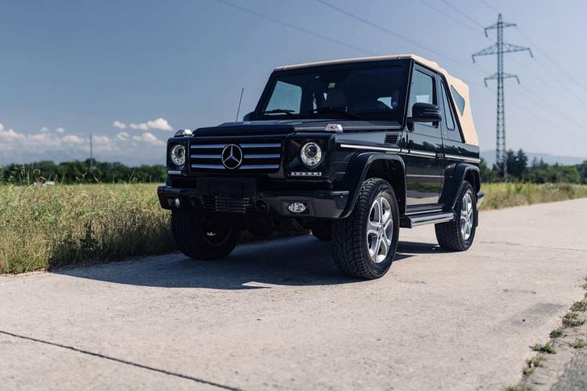 Can canh Mercedes-Benz G500 mui tran 2014 cu, gan 9 ty dong