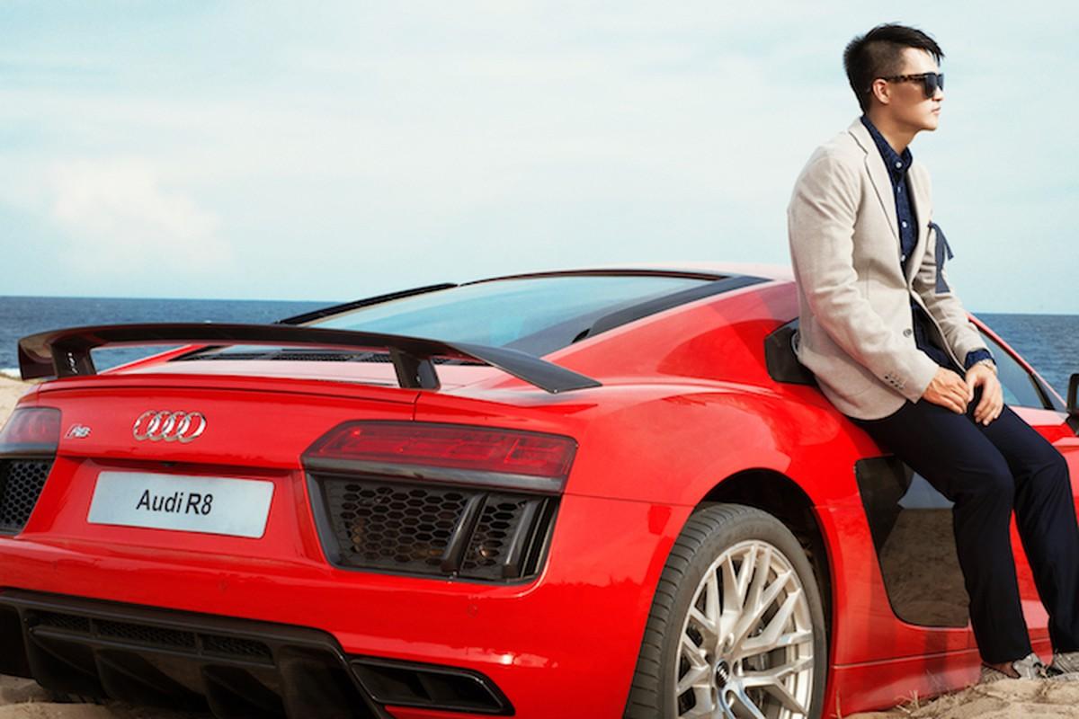 """Soi Audi R8 hon 13 ty ma Cong Vinh """"vua sao ke"""" tung do dang-Hinh-5"""