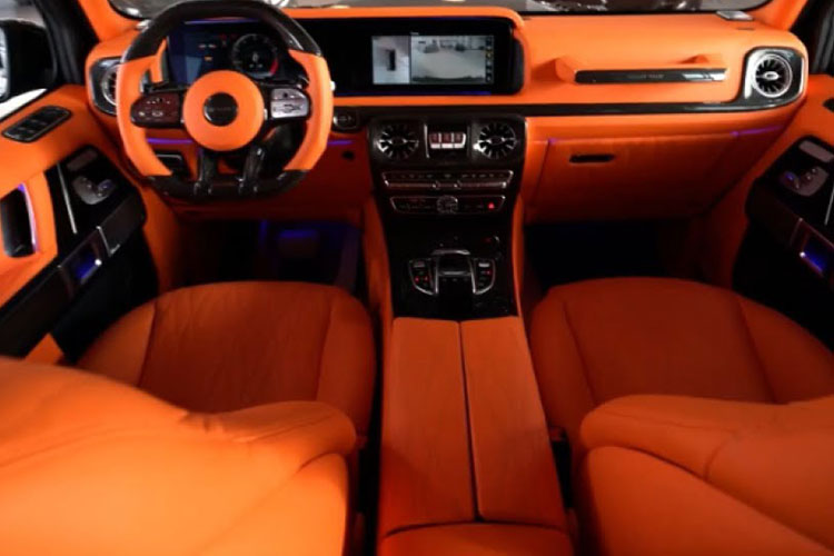 Mercedes-AMG G63 noi that Hermes hon 10 ty ve