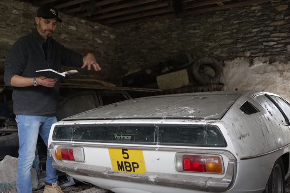 Chiec Lamborghini Espada quy hiem tim thay sau hon 30 nam