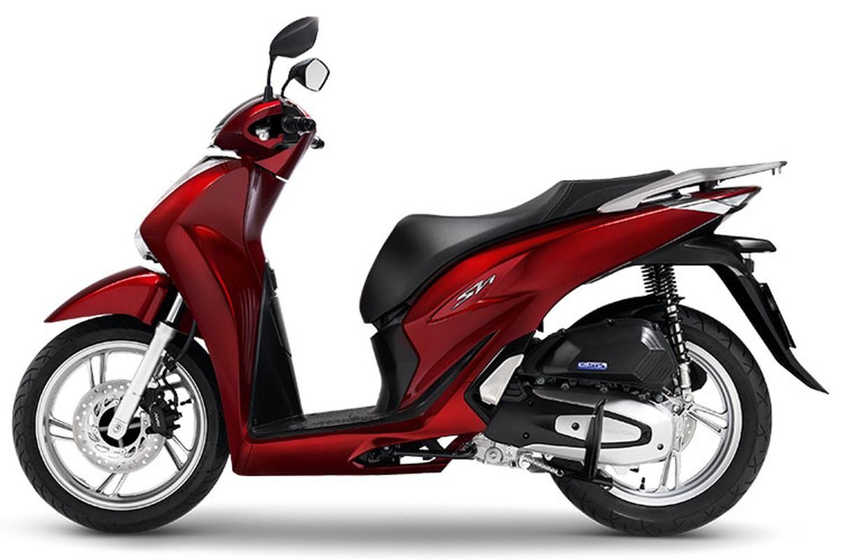 Honda SH150i va SH125i nang cap 2021 tu 71 trieu tai Viet Nam