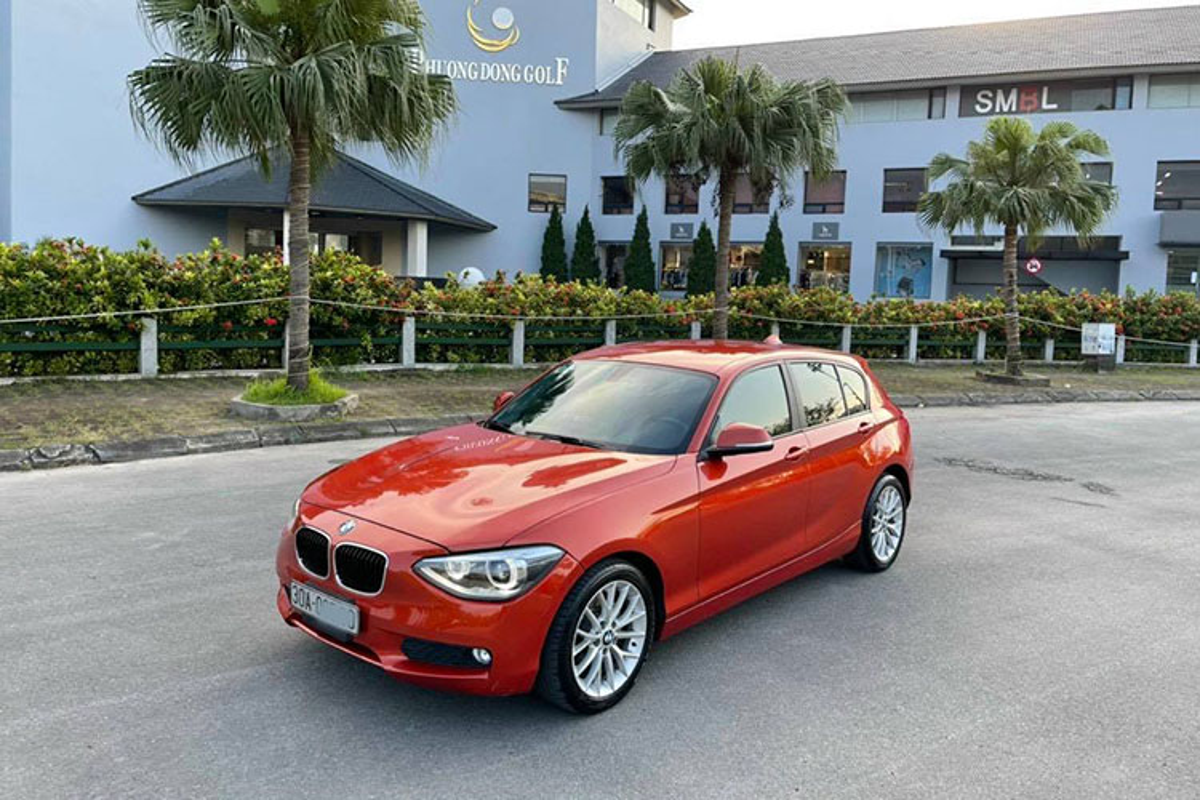 Co nen mua BMW 116i doi 2013, chi 500 trieu dong o Ha Noi?