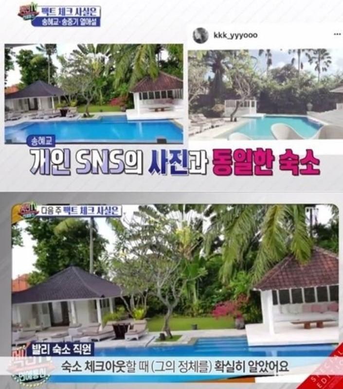 """""""Dot nhap"""" villa Song Hye Kyo, Song Joong Ki nghi cung nhau tai Bali"""