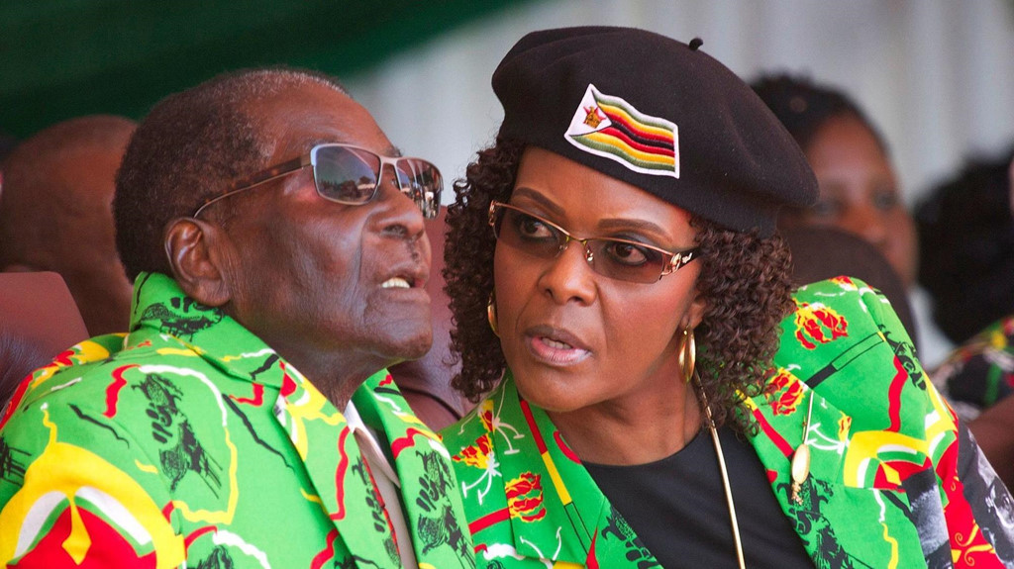 Ben trong biet thu long lay cua Tong thong Zimbabwe