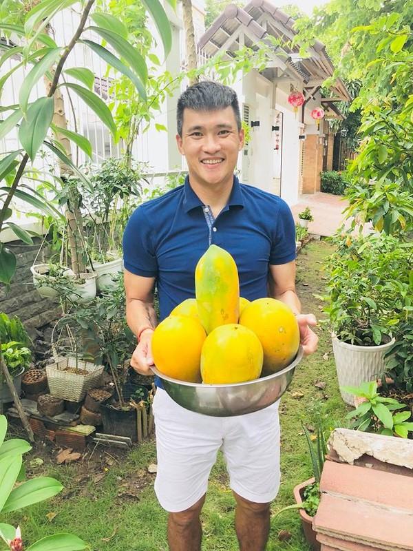 Nhung vuon rau xanh muot trong nha sao Viet o Sai Gon-Hinh-6