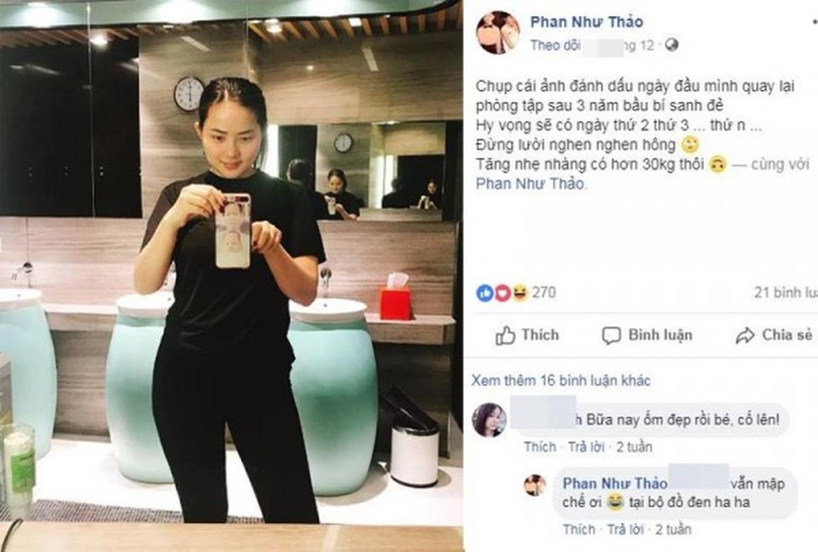 Pha tuong vi mang bau tang 30kg, cho mai Phan Nhu Thao da 'lot xac'-Hinh-13
