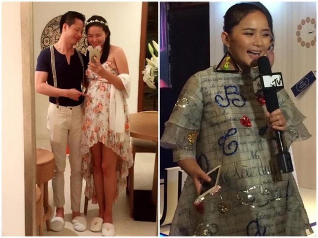 Pha tuong vi mang bau tang 30kg, cho mai Phan Nhu Thao da 'lot xac'-Hinh-5