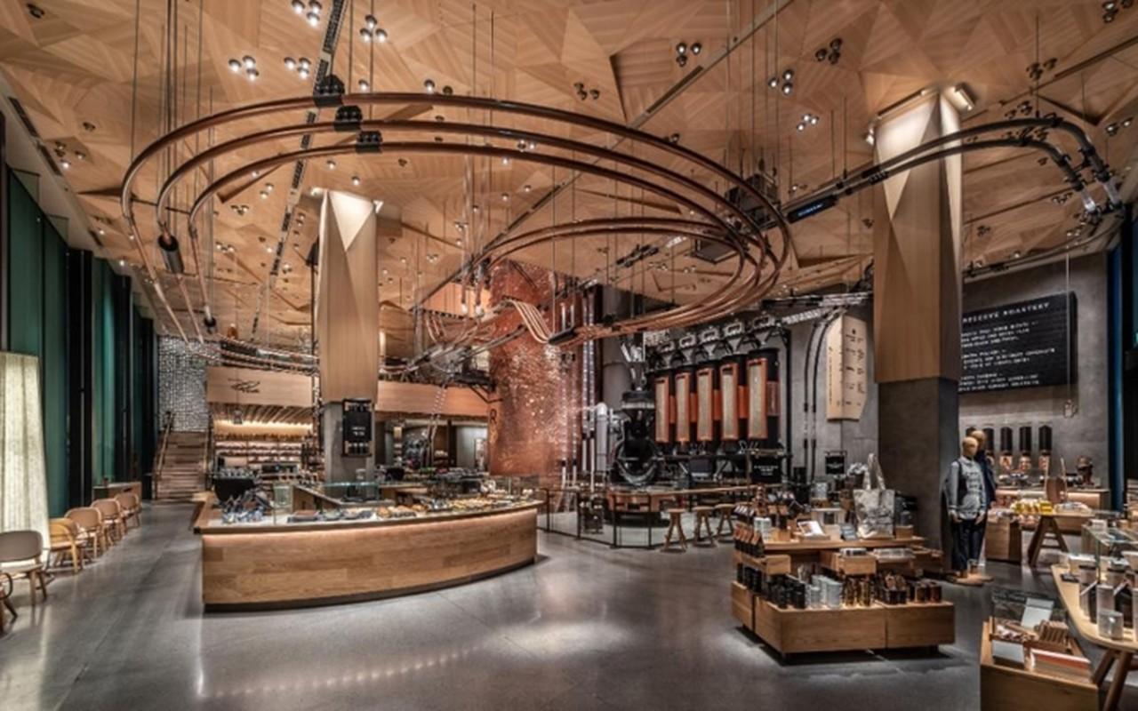 Ben trong cua hang lon nhat the gioi cua Starbucks o Tokyo-Hinh-7