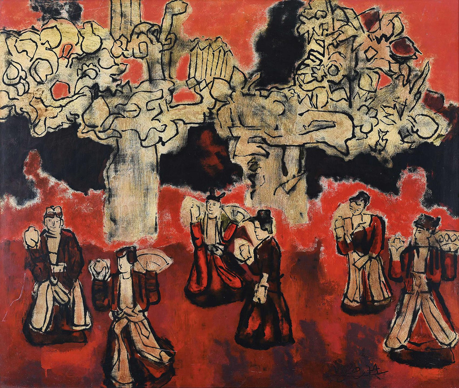 Choang: Gia tranh hoa si Viet hang chuc ty, bang biet thu xa hoa hoanh trang-Hinh-12