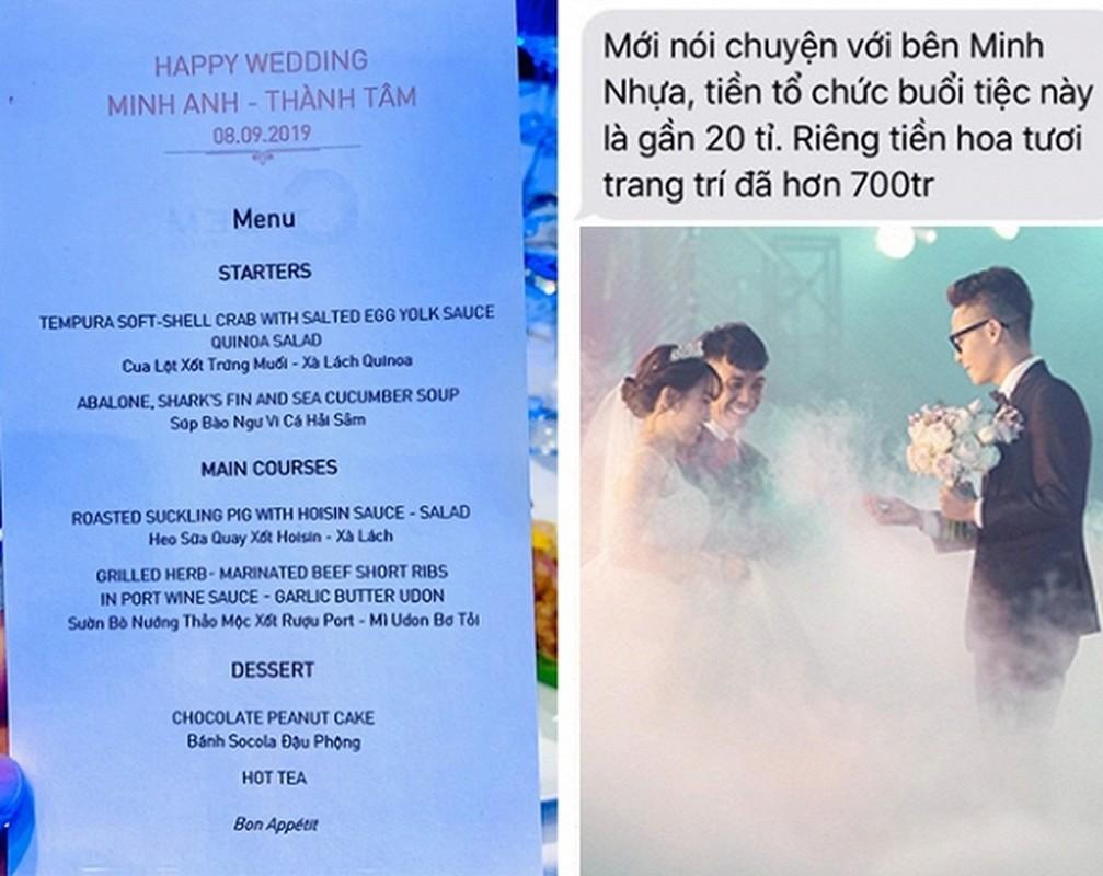 Choang voi thuc don
