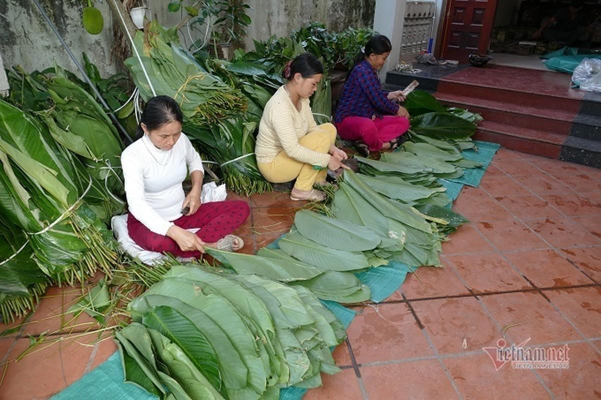 Lang san xuat banh chung Ha Noi tat bat ngay cuoi nam-Hinh-11