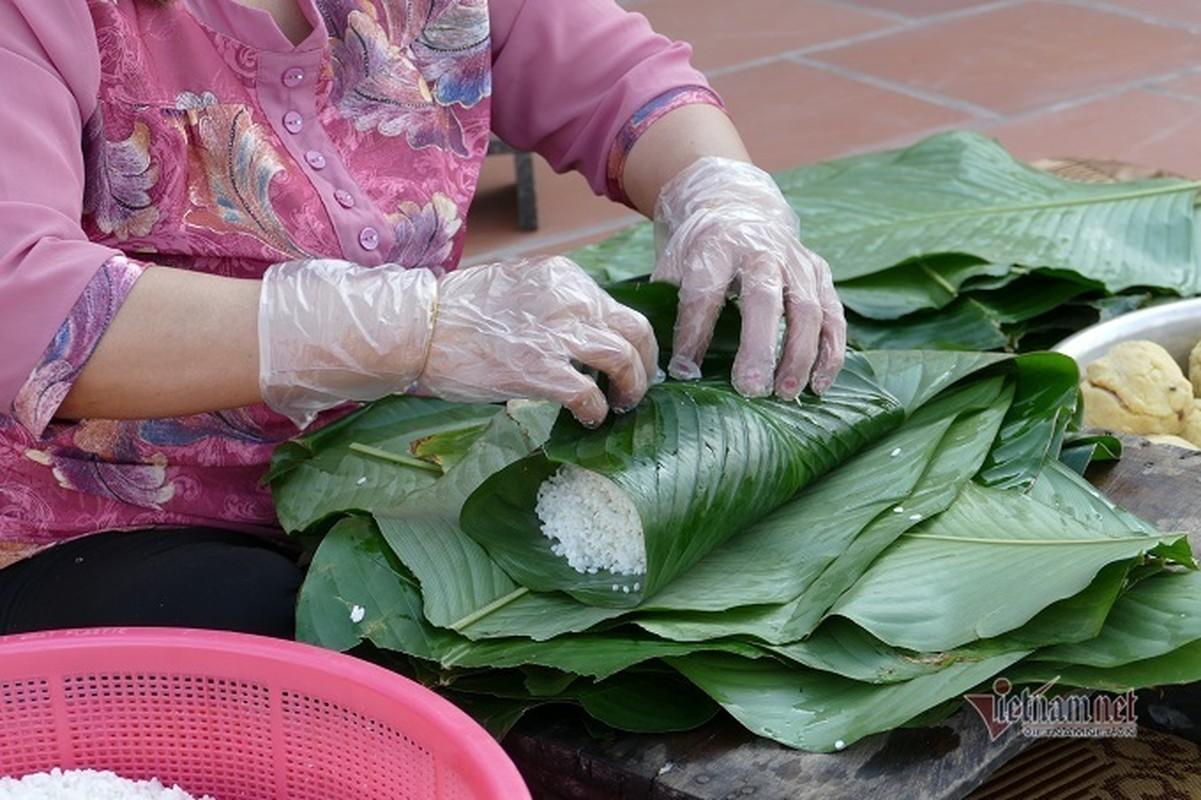 Lang san xuat banh chung Ha Noi tat bat ngay cuoi nam-Hinh-12