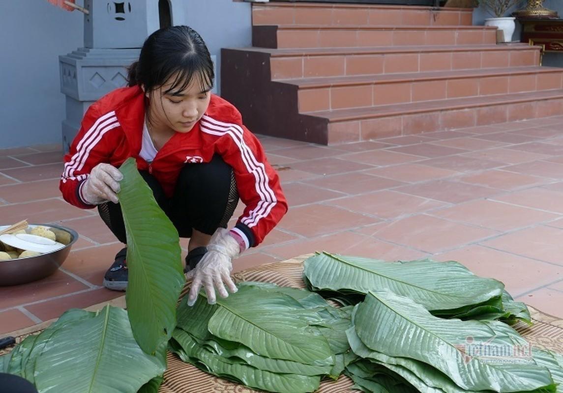 Lang san xuat banh chung Ha Noi tat bat ngay cuoi nam-Hinh-17