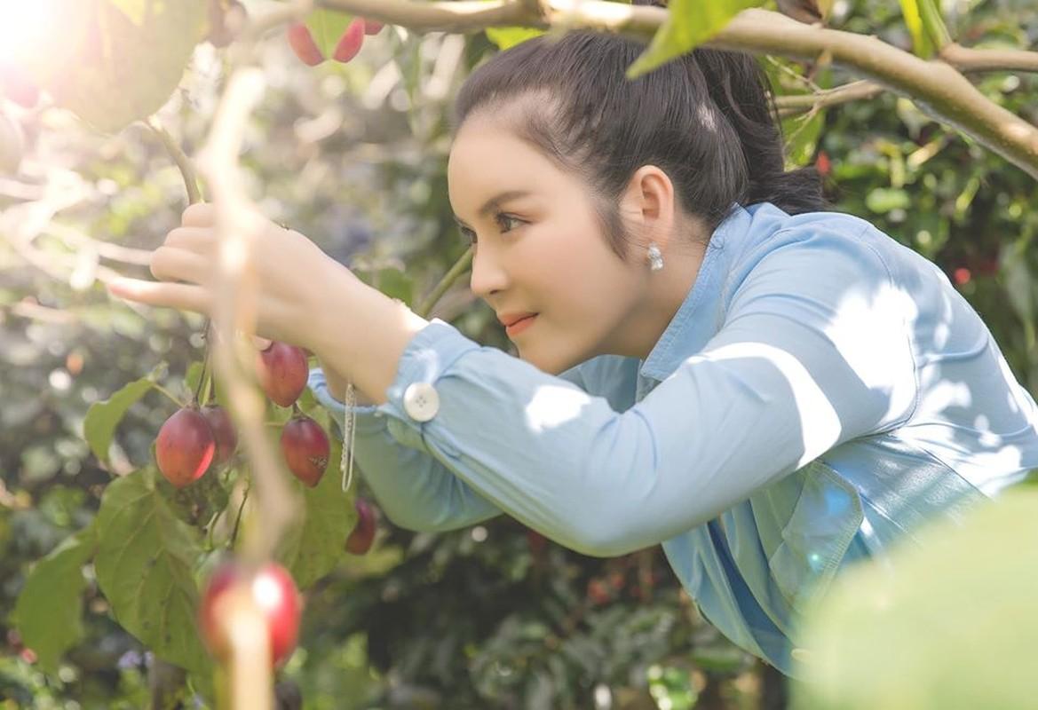 Da mat ngam vuon ca chua than go trong khu Resort trieu do cua Ly Nha Ky-Hinh-2