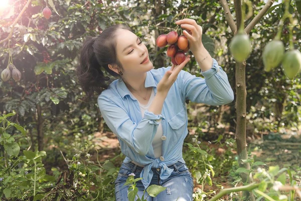 Da mat ngam vuon ca chua than go trong khu Resort trieu do cua Ly Nha Ky-Hinh-3