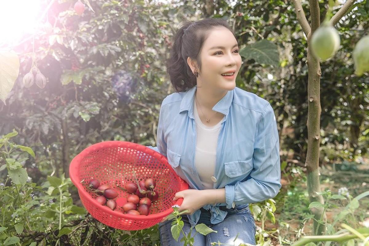 Da mat ngam vuon ca chua than go trong khu Resort trieu do cua Ly Nha Ky-Hinh-4