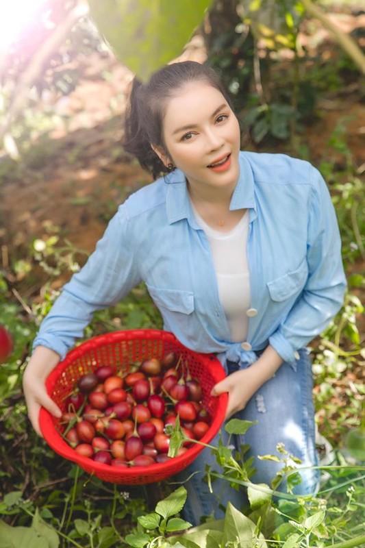 Da mat ngam vuon ca chua than go trong khu Resort trieu do cua Ly Nha Ky-Hinh-5