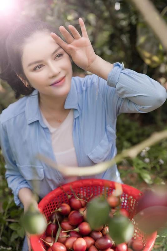 Da mat ngam vuon ca chua than go trong khu Resort trieu do cua Ly Nha Ky-Hinh-6