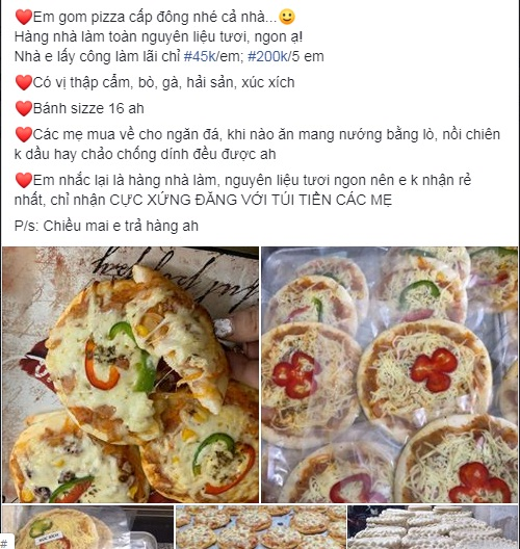 "Su that ""nga ngua"" ve pizza cap dong 6 thang dan tinh dua nhau mua"