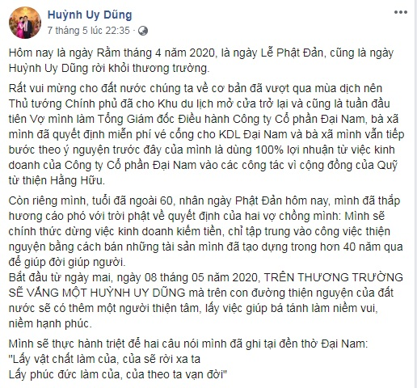 "Biet gi ve quy ba quyen luc thay ong Dung ""lo voi"" nam Dai Nam"