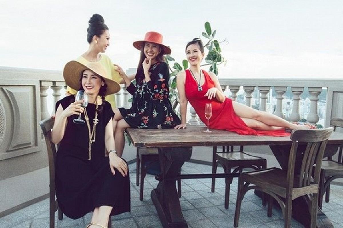 """Penhouse """"dat vang"""" nhu cung dien cua Hoa hau Ha Kieu Anh-Hinh-3"""