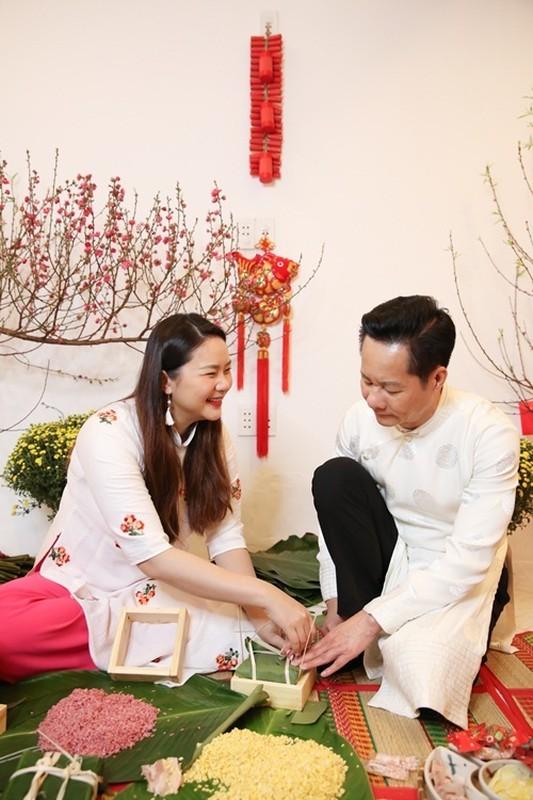 Khong gian don Tet sang chanh trong biet thu cua Phan Nhu Thao-Hinh-8
