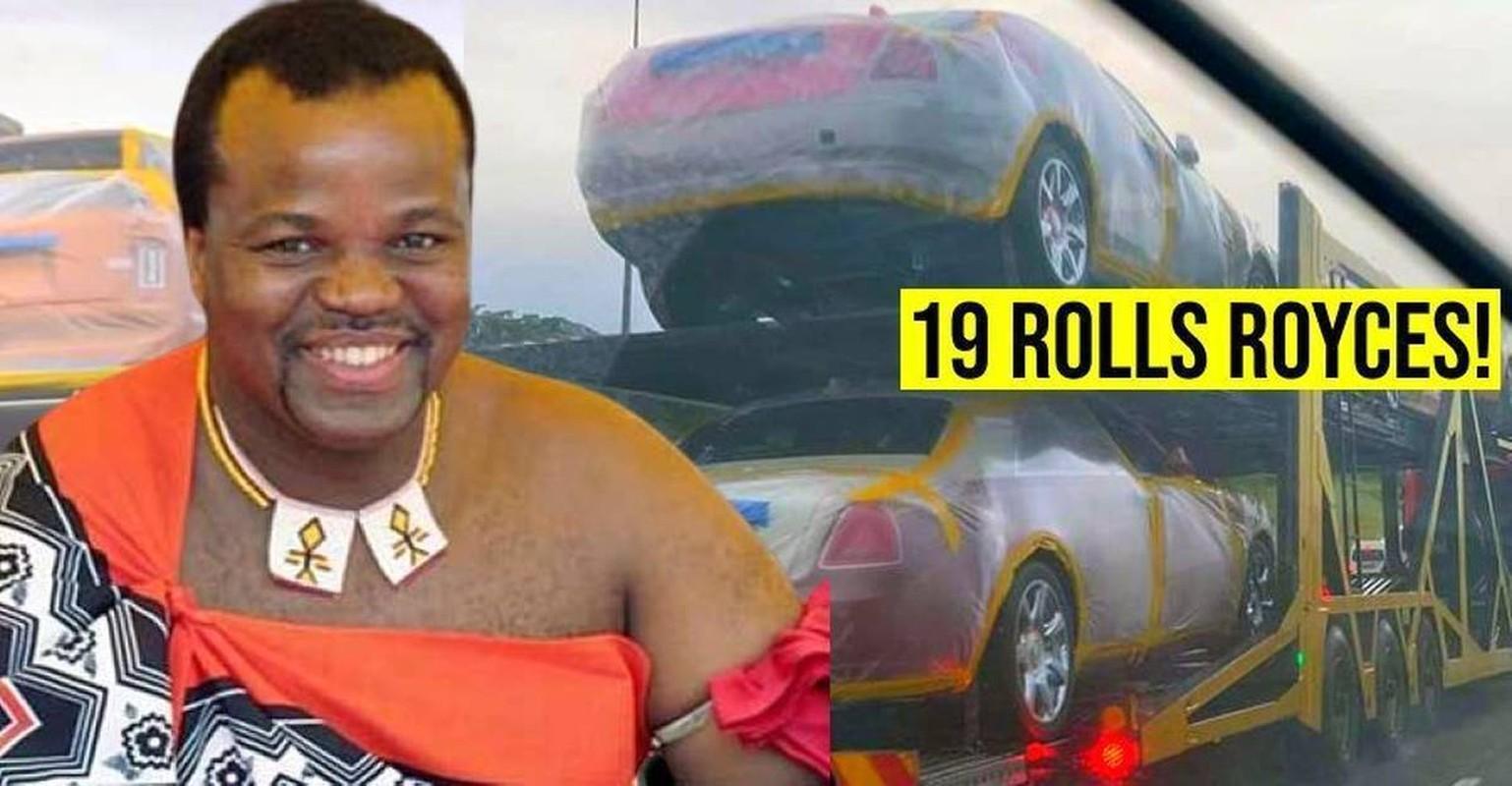 Choang ngop thu choi dot tien cua vi vua mua 19 chiec Rolls Royces tang vo-Hinh-2