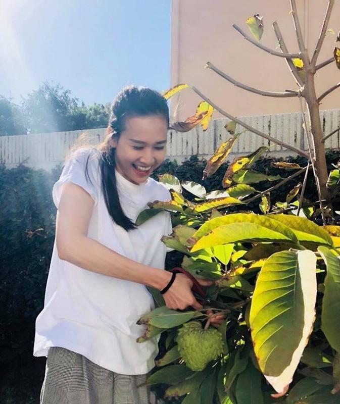Man nhan vuon rau qua triu canh trong nha Hoa hau Viet o troi Tay-Hinh-11